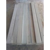 Дуб 1,0-1,9м. сорт 0-1-2. толщина 31/32 мм, естественной влажности